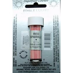 Red sparkle (červená třpytivá) - perleťová prachová