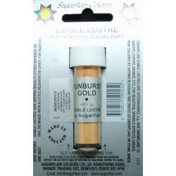 Sunburst Gold (zlatá sluníčková) - perleťová prachová