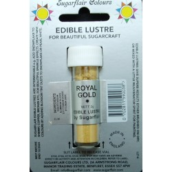 Royal gold (královská zlatá) - perleťová prachová