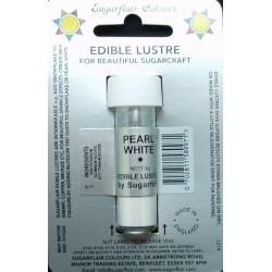 Pearl white ( Perleťově bílá ) - perleťová prachová