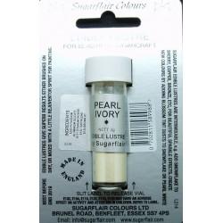 Pearl ivory (slonová kost) – perleťová prachová