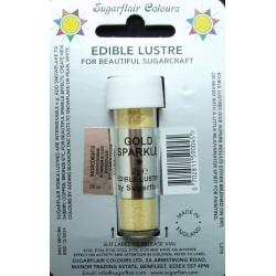 Gold Sparkle (zlatá třpytivá) - perleťová prachová