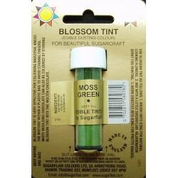 Moss green (mechově zelená) - prachová