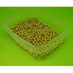 Perly zlaté malé - 50g (AMO41)
