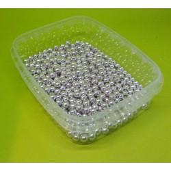 Cukrové perly stříbrné malé AM031 (Min.trvanlivost: 11.07.2020)