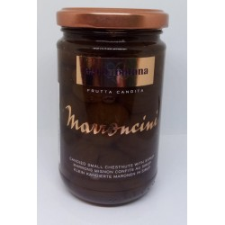 Marron glacés mignon s vanilkou Bourbon Agrimontana (celé) 420 g/sklo