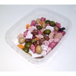 Čokoládové kamínky v barevné krustě (50g)