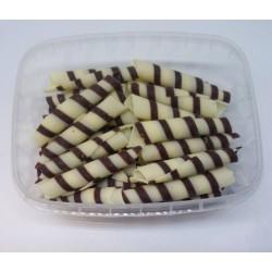 Čokoládové ruličky dvoubarevné TWISTER (70g)