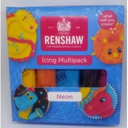 Fondant Renshaw - neon 5 x 100 g