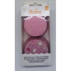 Košíčky Decora - růžový slon