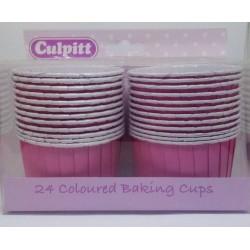 Culpitt pevné košíčky na muffiny - Růžové