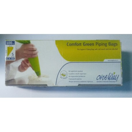 Sáčky PVC Comfort Green S ( 100 ks) 36 x 20 cm