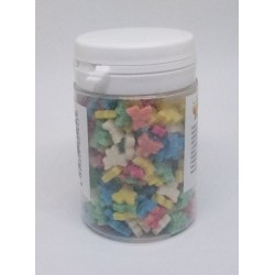 Cukrové mašličky 3D 9mm (barevné) 40 g/dóza