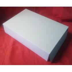 Krabice na roládu bílá (30 x 45 x 10 cm)