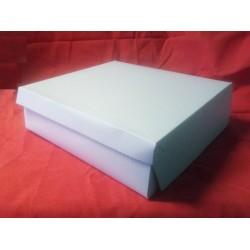 Dortová krabice bílá (32 x 32 x 10 cm)