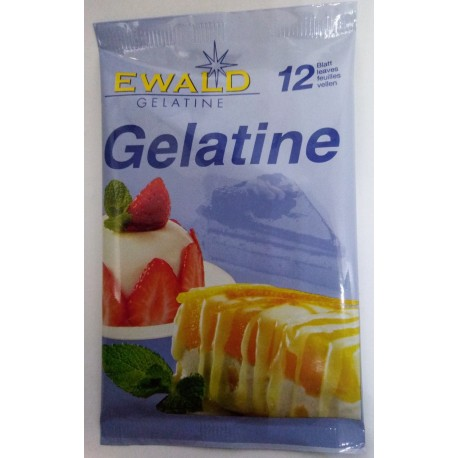 Plátková želatina 20g
