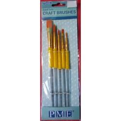 Štětce na nanášení barvy III. (PME)