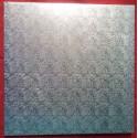 Kartonová dortová podložka silná - stříbrná (40x40)