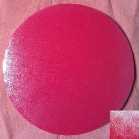 Podnos silný - červený se vzorem (30cm)