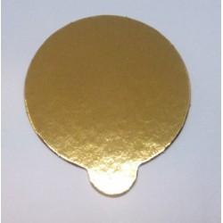 Podložka zlatá minidezert Ø8cm