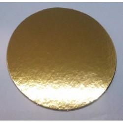 Podložka zlatá minidezert Ø12cm