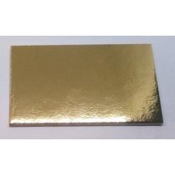 Podložka minidezert -10x6cm (zlato-černá)