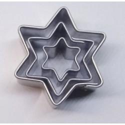 Hvězdičky mini sada (2,5cm, 2cm, 1,1cm)
