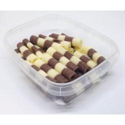 Čokoládové ruličky dvoubarevné Thuja (50 g)
