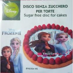 Frozen II - jedlý papír na dort 18,5 cm