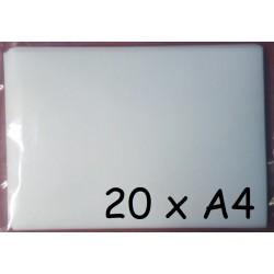 20x Jedlý papír A4 Plus pro tisk (silný 0,55mm)