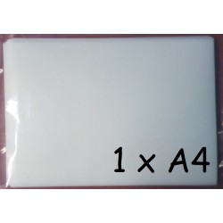 1x Jedlý papír A4 Plus pro tisk (silný 0,55mm) - 1 ks