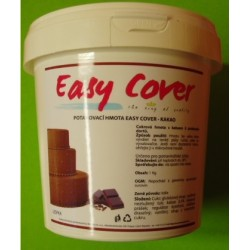 Potahovací hmota Easy Cover (kakao) 1 Kg (Trvanlivost do 01/01/2018)
