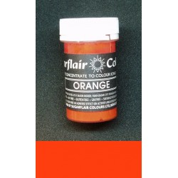 Orange (oranžová) Sugarflaír